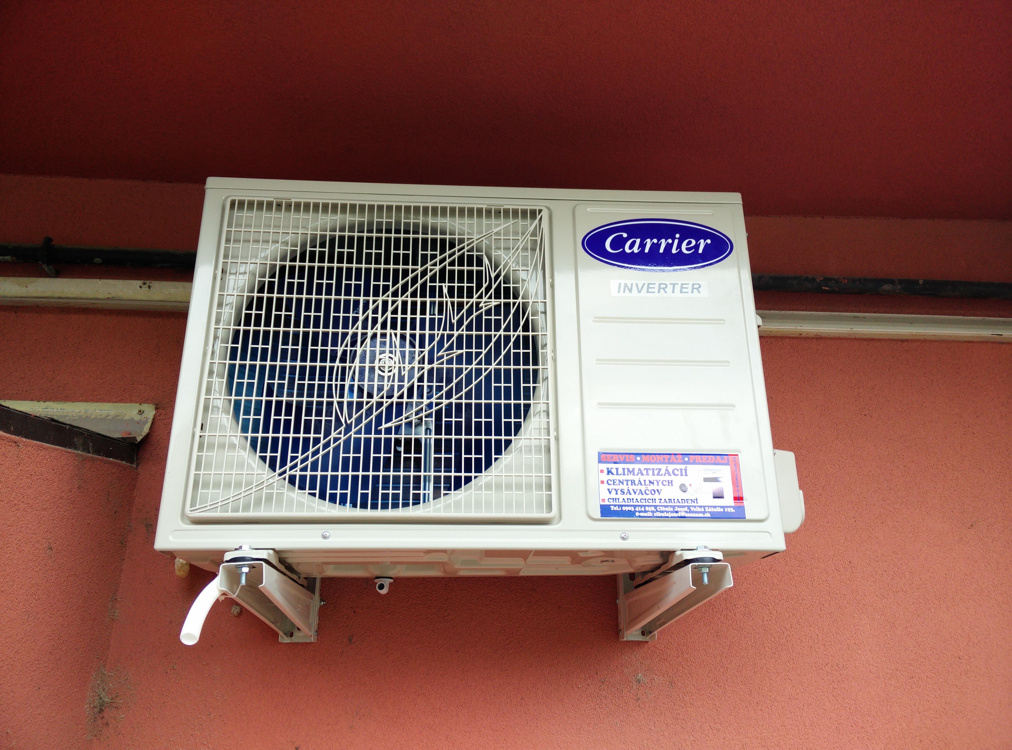 údržba klimatizácie