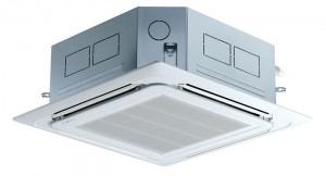kazetová klimatizácia - LG-Multi-V-4-Wege-Kassette-141-KW